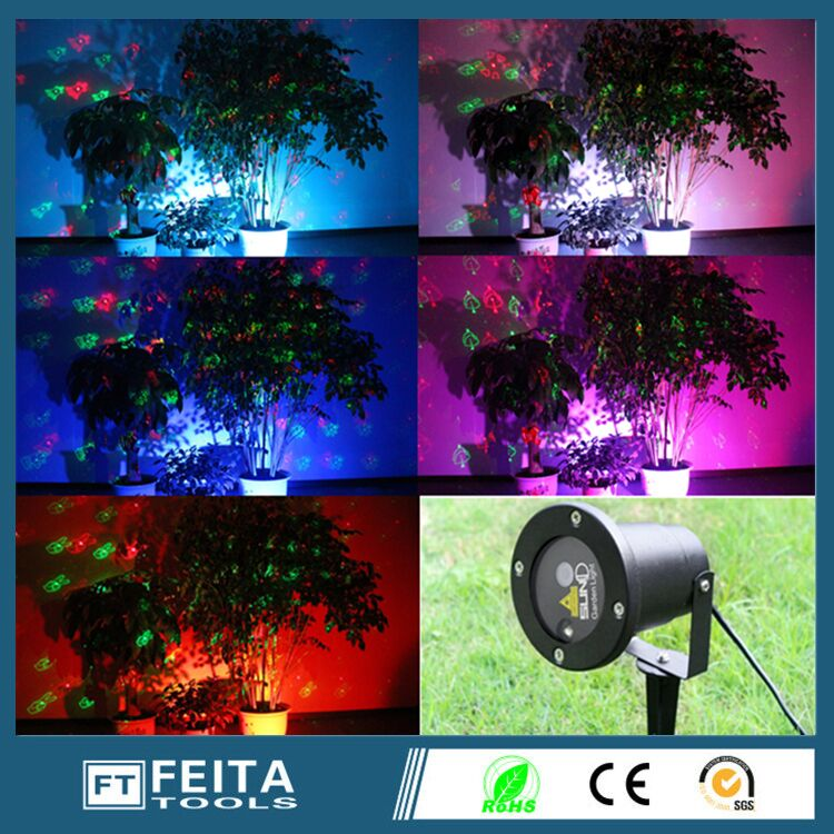 Waterproof Christmas Lights Red Green Dynamic Twinkle Outdoor Christmas Laser Lights Projector Decorations with remote control(China (Mainland))