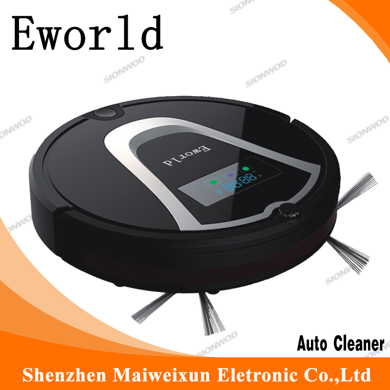 Eworld M884 Robotic Floor Cleaner ,Automatic Vacuum Robot Floor Cleaner for Hardwood Flooring and Hard Carpets(China (Mainland))