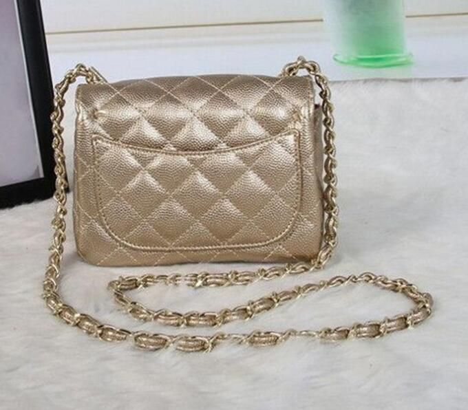 2016 Famous Brand Designers Women Messenger Bags Quilted Flaps c Bag Women's Leather handbag le chain Shoulder Bag bolsos sac(China (Mainland))