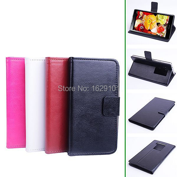 Best Deluxe Magnetic Cover Luxury PU Leather Flip Stand Case For Pantech VEGA A860 A860S A860K Phone Shell Skin With Card Slots(China (Mainland))