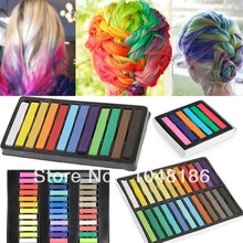 36 Colors Non-toxic Temporary DIY Hair Color Chalk Dye Pastels Salon Kit(China (Mainland))