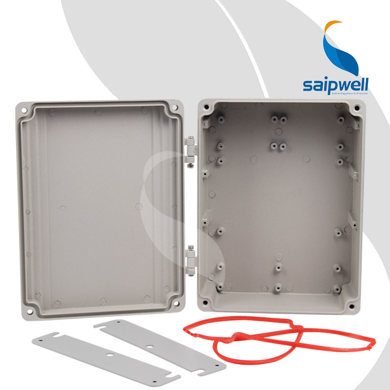 250*185*88 mm Painting Spraying Aluminum Enclosure/ Hinge Type Project Box Enclosures for Electronics (SP-AG-FA15)(China (Mainland))