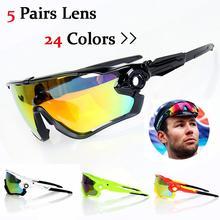 2016 marca mountian bike occhiali da sole di marca polarizzati sport ciclismo bicicletta da corsa corsa mens ciclismo occhiali da sole per uomo(China (Mainland))
