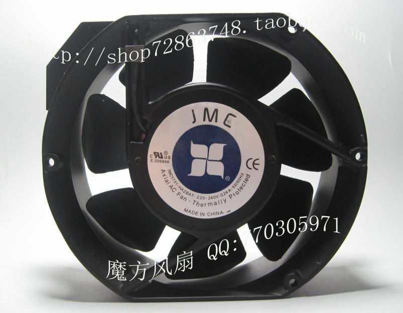 Original JMC1751-HA2BAT iron leaf 220v 0.24a 17251 17cm cooling fan cabinet(China (Mainland))