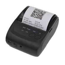 Buy 5802DD Bluetooth Thermal Receipt Printer 58mm USB POS Ticket Barcode Printer Pocket Bill Termal Printer Support Android Windows for $49.88 in AliExpress store