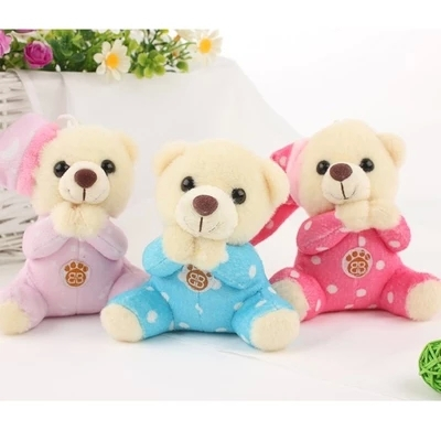 Cute Baby Bear prayer of gratitude Baby Bear Music Teddy Bear gift with music baby toys for children(China (Mainland))