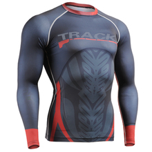 Compression Shirts for Men Boys Skinny Base Layer Thermal Under Top Men Long Sleeves Sportswear Fix Gear for Running Training