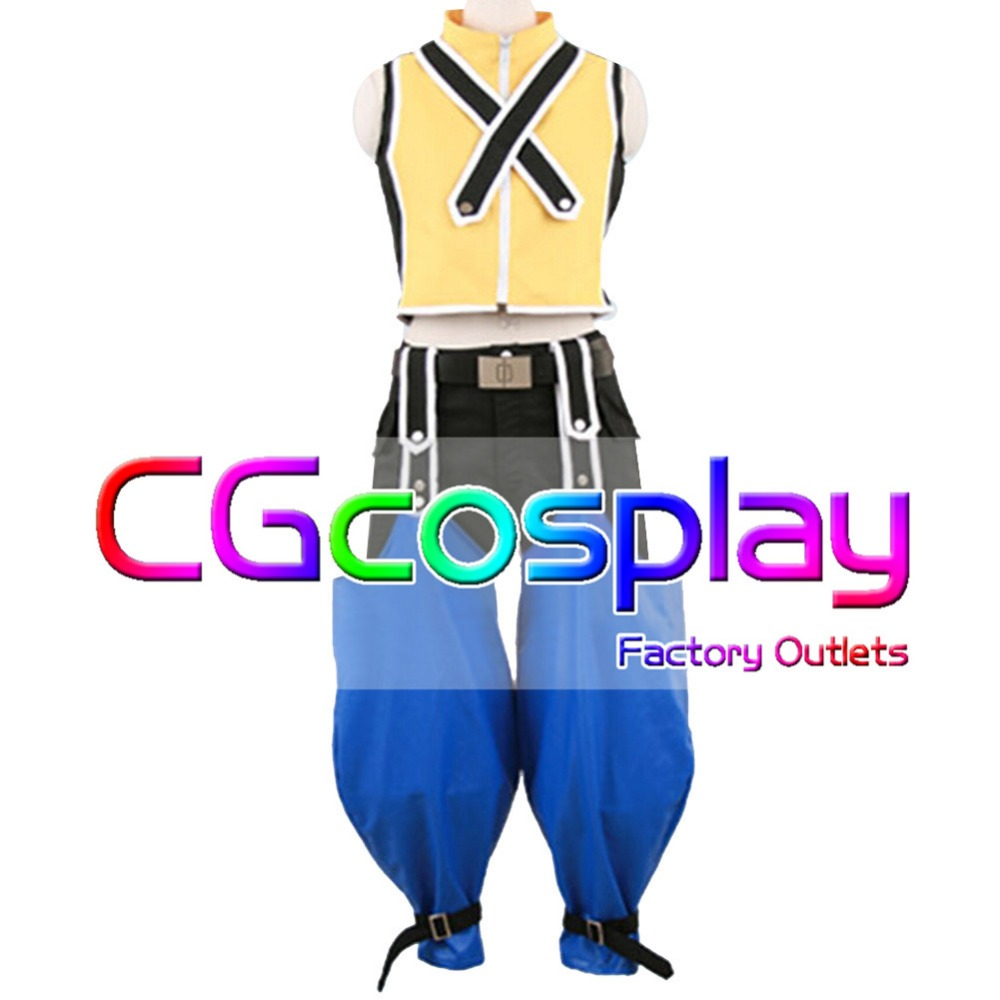 Free Shipping Cosplay Costume Kingdom Hearts Riku Cos Custume Uniform New in Stock Retail/Wholesale Halloween Christmas PartyОдежда и ак�е��уары<br><br><br>Aliexpress