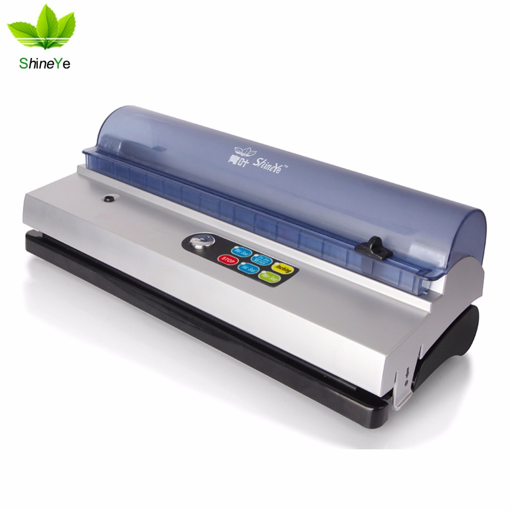 Fast shipping + customizable wet and dry small commercial vacuum sealing machine food preservation vacuum packaging machine(China (Mainland))