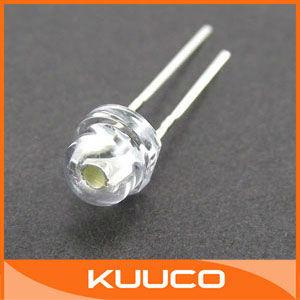 100PCS/LOT, 5mm LED Diode, WHITE Round LED Lamp, 5MM LED Lamp Diode #010037
