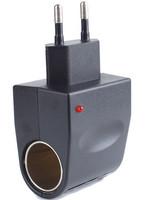 1pcs Car Cigarette Lighter Adapter Converter 220V Wall Power to 12V DC Car Cigarette Lighter Adapter Converter