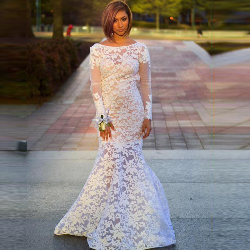 white lace prom dresses with sleeves wwwpixsharkcom