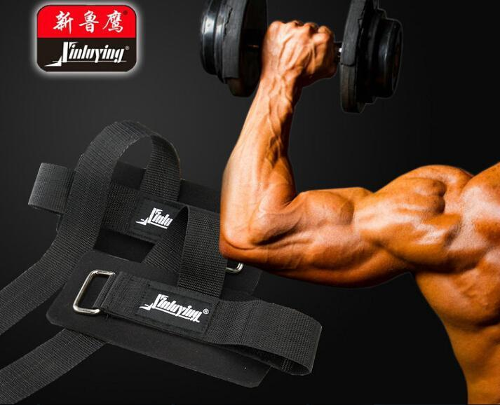 Weight Lifting Hand Wrist Bar Support Strap Hand Bar Wrist Brace Support Gym Straps wristband wrap Body Building Grip Glove(China (Mainland))