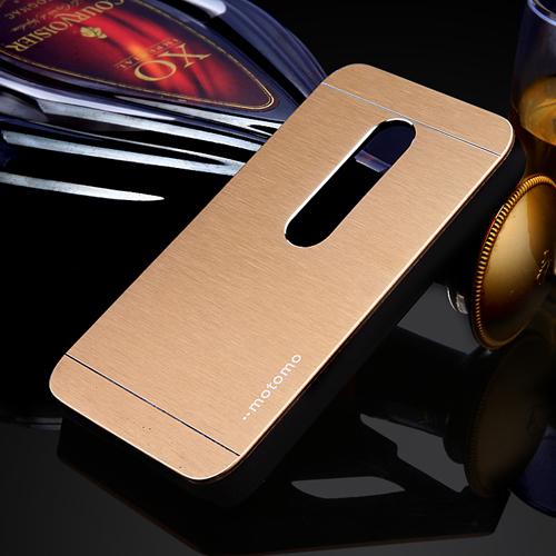 luxury metal case for MOTO G3 G2 hybrid PC+aluminum back housing case cover for MOTOROLA MOTO G2 G3 aluminum case(China (Mainland))