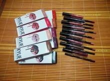 2PCS/Set New Kylie Lip Kit Jenner Lipstick Kylie Set with Eyekiner Lip Gloss Liquid In Stock Matte Lipline(China (Mainland))