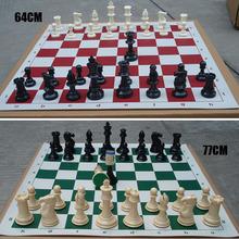 A13 lotto di 32 medievale pezzi degli scacchi/plastica ponderato completa complete set di scacchi VB491 p(China (Mainland))