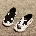 2017 Spring Summer 3 Colors Baby Girls Boys Anime Cartoon Mickey Hello Kitty Children Sneakers Kids