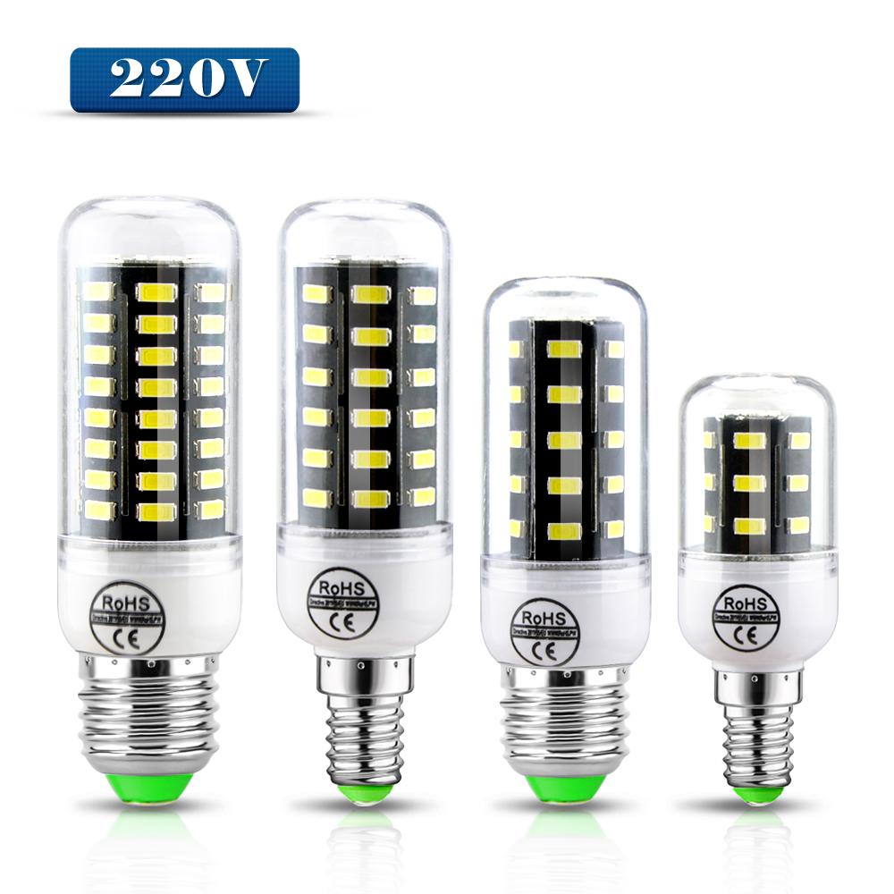 A++ Energy saving Aluminum PCB Cooling NEW Upgrade 220V 5733 SMD LED Corn Bulb lamp E27 E1424 36 69 72leds Lamparas Chandelier(China (Mainland))