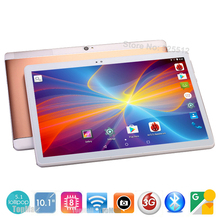Free Shipping 2017 Newest 10 inch Tablet PC Octa Core 4GB RAM 32GB ROM Dual SIM Cards 5MP Android 5.1 GPS Tablet PC 10 + Gifts