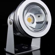 Free shipping High Power Warm White LED Waterproof Flood Light Lamp 10W DC12V Warm White/White,LED underwater light, spotlight(China (Mainland))