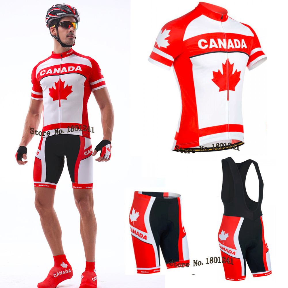 Bike Canada Shirts jersey wear bike clothing