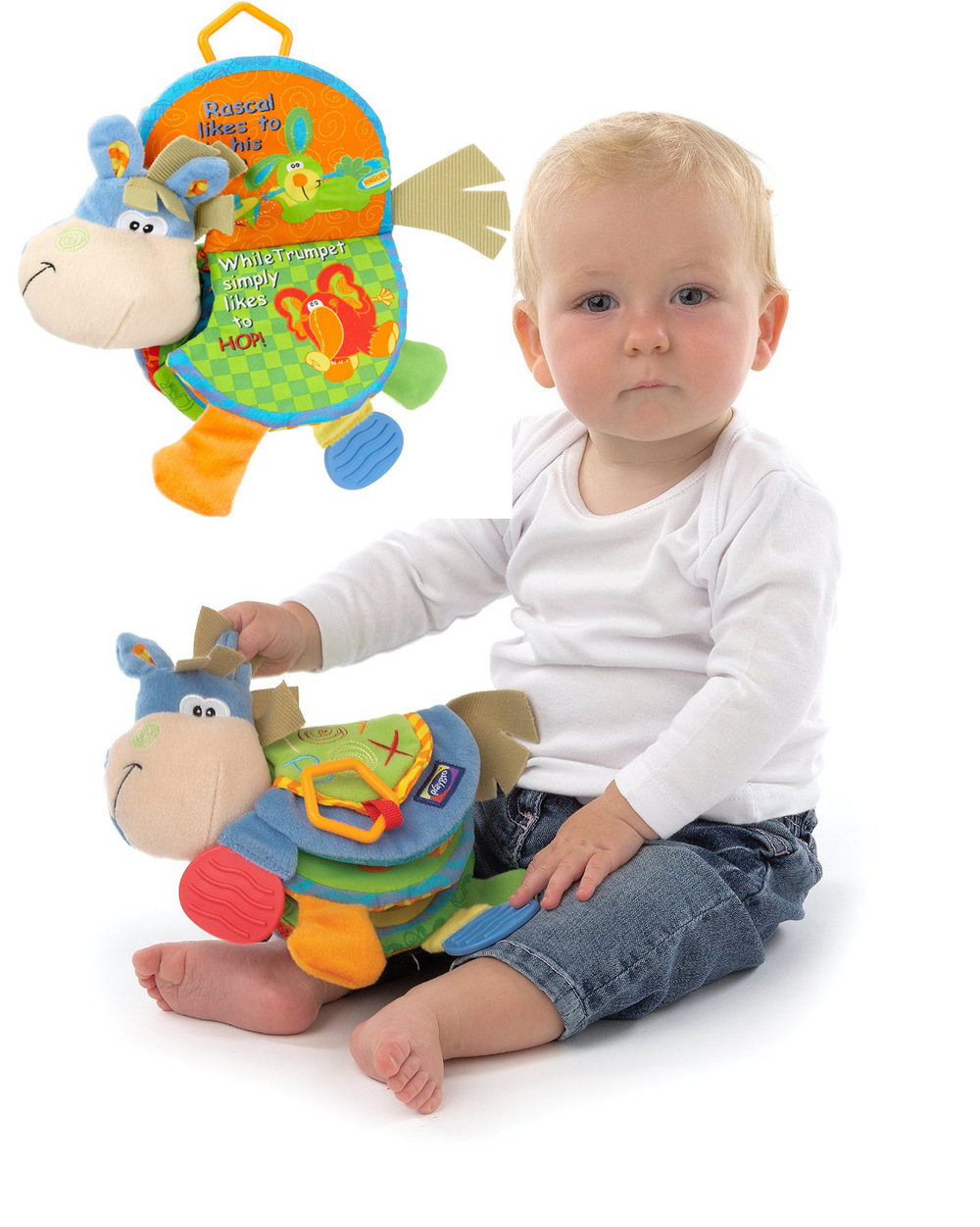 Learning And Development Toys : Baby toy infant quiet book toys musical doll early
