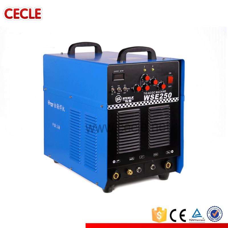 ac dc tig inverter welding machine Aluminum Welder tig welder WSE250(China (Mainland))