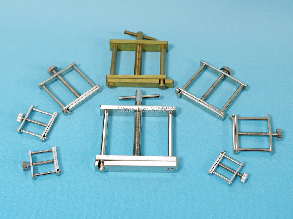 Hoffman's Tubing Clip Brass Made Tube Clamp ,Bottom Hinged And Nickel Plated. Allow Variable Flow Control 20mm Pack 5(China (Mainland))