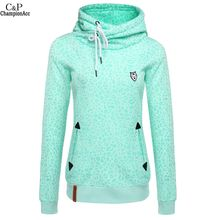 High Quality Leopard Print Women Sweatshirt 2016 Fashion Tracksuits Full Sleeve Slim Pullover Hoodies Moleton Feminino @k(China (Mainland))