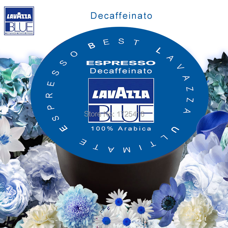 Lavazza Blue capsules imported instant coffee concentrate purely non decaf powder grain free shipping 10pcs