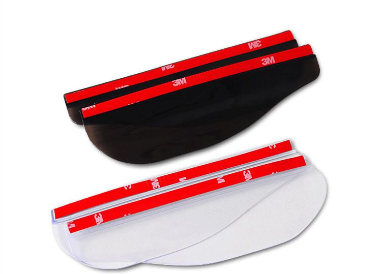 Hot Black White Mirror Rain Shade Flexible Plastic Mirror Sheet High Quality Rearview Mirror And Car