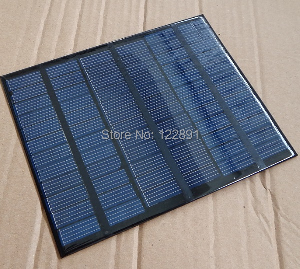 High Quality! Polycrystalline 3.5W18V Solar Cell Mini Solar Module Solar Panel For Battery Charger Free Shipping(China (Mainland))