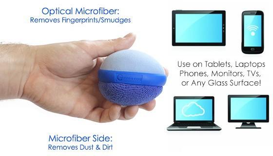 Screen cleaning ball Microfiber Tablet smartphone laptop TV Screen egg AY246-SZ(China (Mainland))