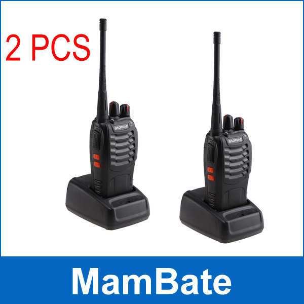 2Pcs/Pair walkie talkie baofeng 888s 3W 16CH FRS/GMRS Two-Way Radio built-in 1500MAh Li-ion battery- Support 8 hours(China (Mainland))