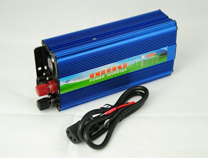HOT selling dc-ac pure sine wave power inverter 500w 24v 220v 10 years specialist(China (Mainland))
