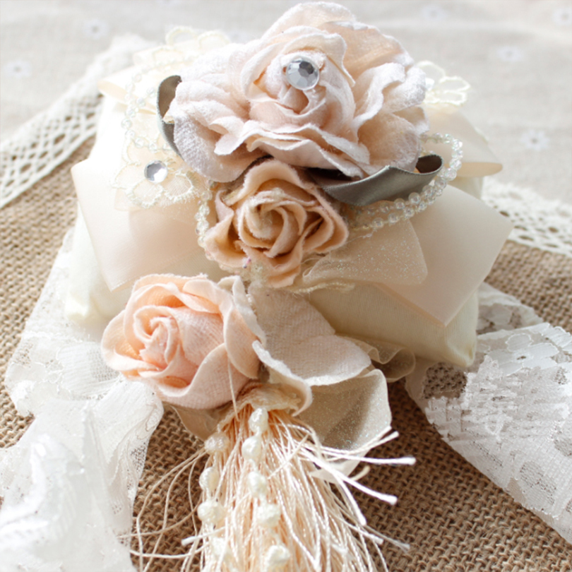 Beige 3 Roses Decor Holder Curtain Straps curtain tie backs clips Ring Taping tassel tiebacks open the curtains buckle 2/piece(China (Mainland))