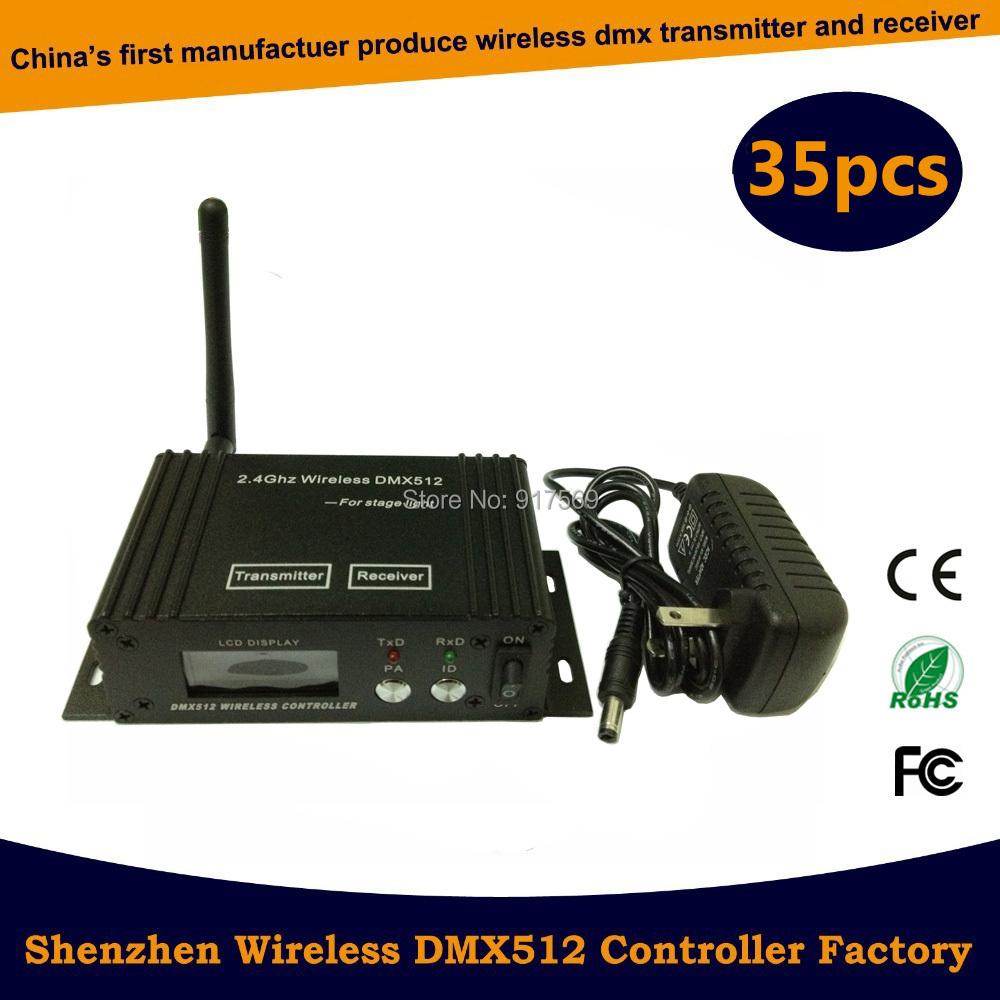 DMX wireless controller transmitter&receiver,LED Lighting Controller,LED transceiver DMX 512 control, DMX512W Free Ship via DHL(China (Mainland))