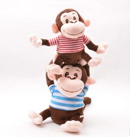 Interesting Music Donkey Electric Donkey/Monkey/Sheep Move Sing Music Donkey Toy Funny Soft Plush Toys(China (Mainland))