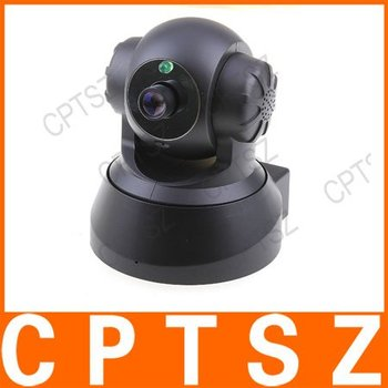 Free Shipping !! H.264 Megapixel IP camera TF Card 100--240v