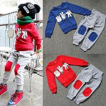 Children Autumn Clothing Set 2015 Kids Boys Girls Cartoon Sweatshirt Sport Tracksuits Clothes Unisex Coat Cheap Clothes China(China (Mainland))