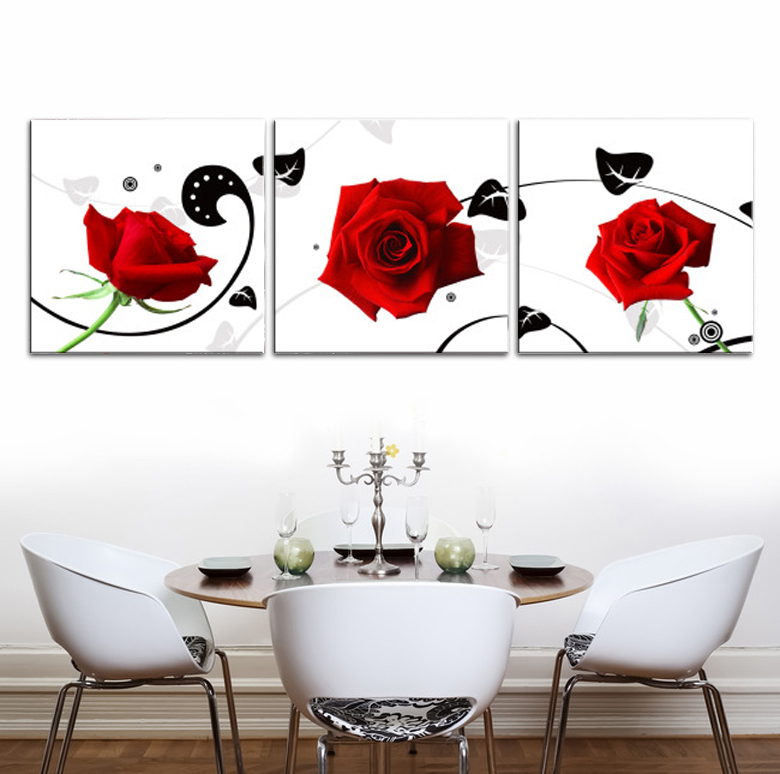 2015 direct selling new no spray painting 60x60 oil square modern canvas printed cuadros - Home decor direct sales companies concept ...
