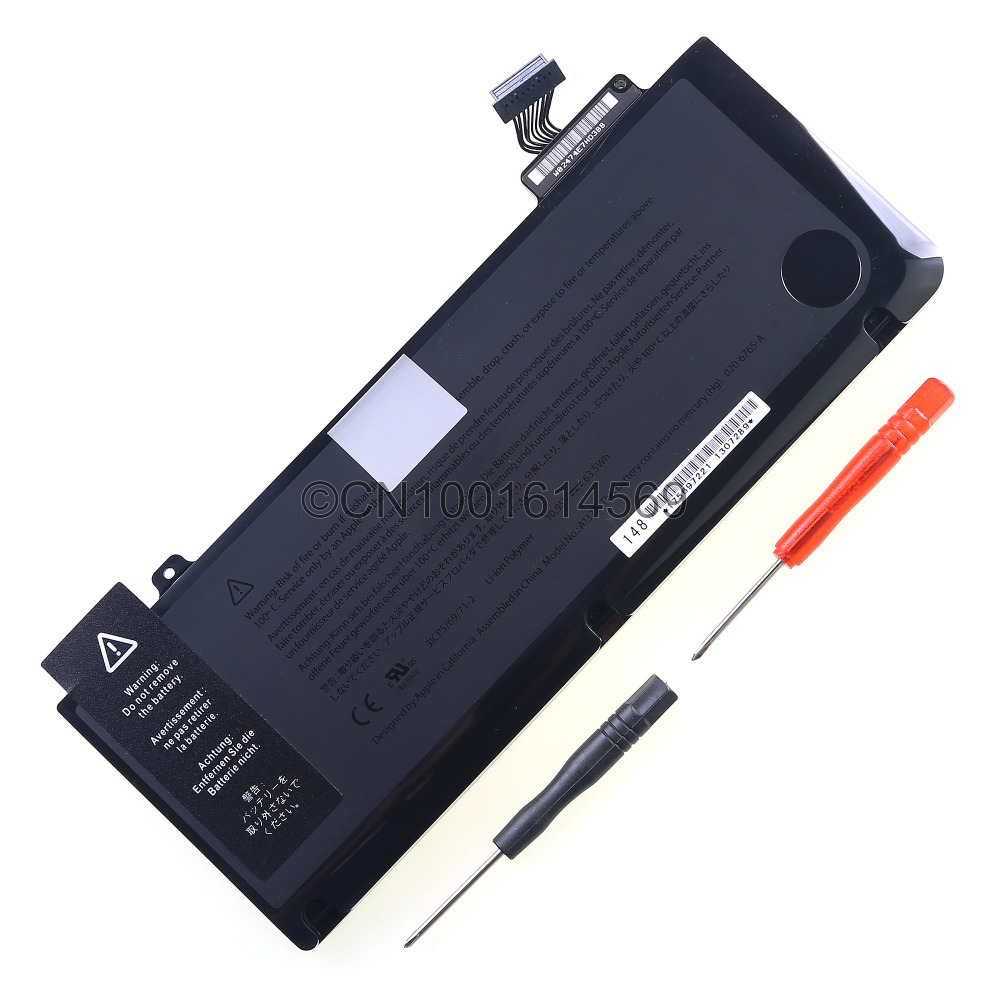 "New Genuine Original laptop Battery For Apple Macbook Pro 13"" A1278 2009/2010/2011/2012 Version A1322 Battery Ship from USA(China (Mainland))"