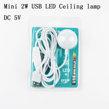 Buy DC 5V Mini 2W USB LED Ceiling lamp Desk Reading lamp Camping Book Switch ON/OFF Emergency Night light Toys Gifts 1PCS for $3.05 in AliExpress store