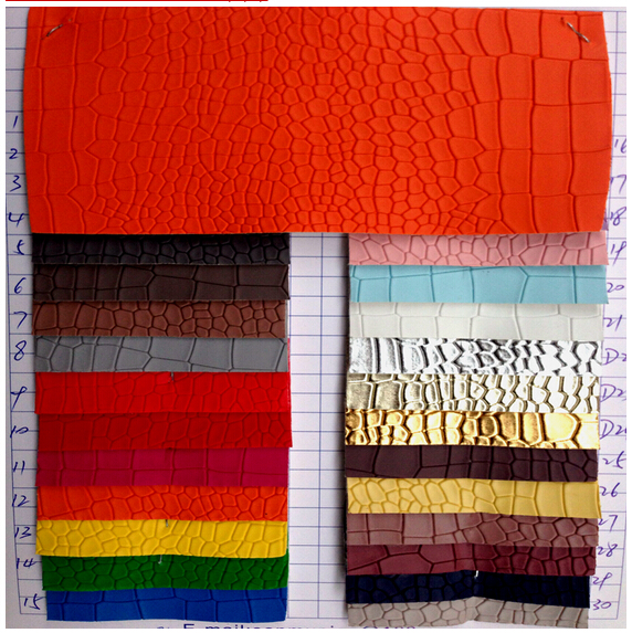 vinyl Matt crocodile leather fabric,glitter leatherette ,upholstery furniture synthetic leather textile ,eco leather,1210022(China (Mainland))