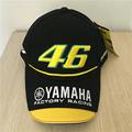 New Black Rossi VR46 Baseball Cap MOTO GP 46 Motorcycle 3D Embroidered Racing Cap Men Women