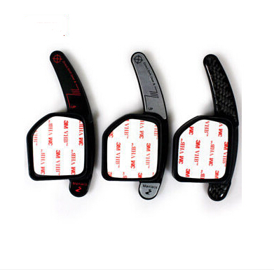 Car styling Steering Wheel DSG Paddle Extension Shifters Sticker Decoration for AUDI A3 S3 A4 S4 A5 S5 A6 S6 A7 A8 R8 Q5 Q7 TT(China (Mainland))