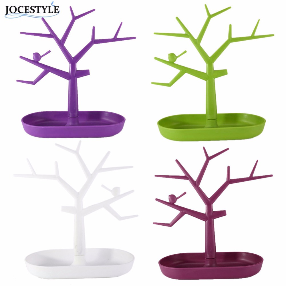 Display Jewelry Organizer Show Rack Jewelry Necklace Ring Earring Tree Stand Necklace Organizer Jewelry Tree Earings Holder(China (Mainland))