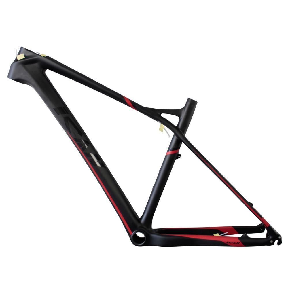 Light Carbon Mountain Bike Frame 27.5er,2015 Popular Hard Tail MTB Bicycle Frame 650b,15/17/19inch BB92 UD Matt Thru Axle 142*12(China (Mainland))