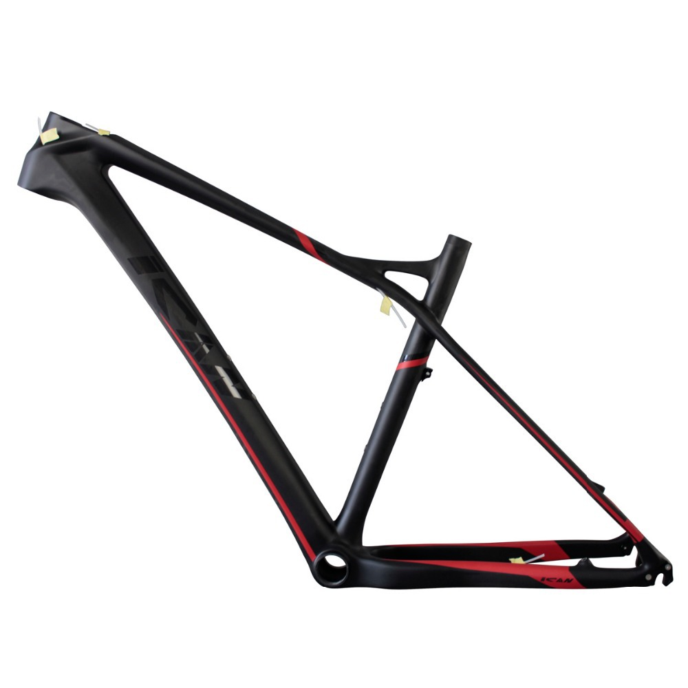 Light Carbon Mountain Bike Frame 27.5er,2015 Popular Hard Tail MTB Bicycle Frame 650b,15/17/19inch BB92 UD Matt Thru Axle 142*12(China (Mainland))