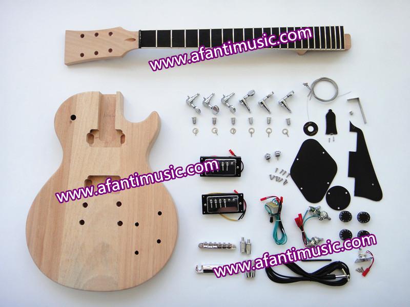 Afanti Music / Mahogany Body &amp; Neck / Ebony Fingerboard/ LP Standard style DIY Guitar Kit / DIY Electric guitar (SDD-925K)<br><br>Aliexpress